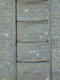"Oude houten plukladder ""C""_"