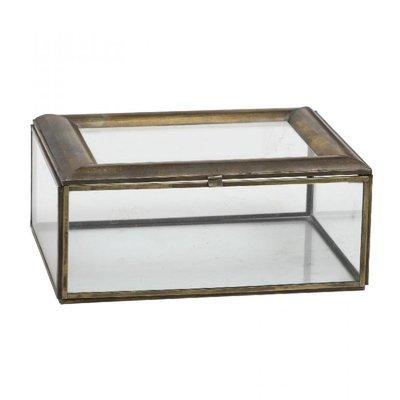 PTMD glass box in koper kleur.
