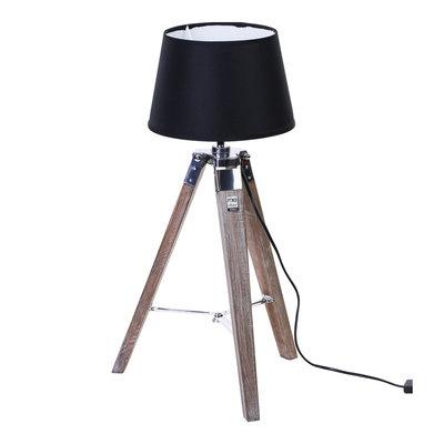 PTMD studio lamp met zwarte kap. tafel model. 668580