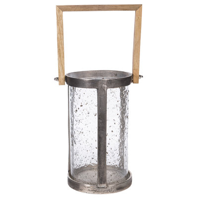PTMD Alu rough lantern round cool 648134