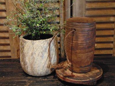 Nepalese houten kruik