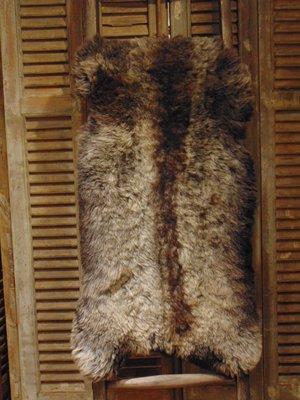 Stoere IJslandse schapenvacht