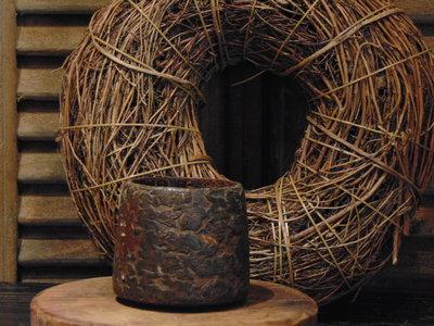 Oude Nepalese houten bakje N
