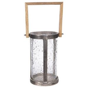 PTMD Alu rough lantern round cool 648134