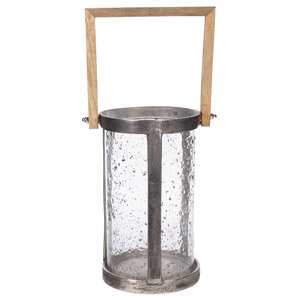 PTMD Alu rough lantern round cool 648138