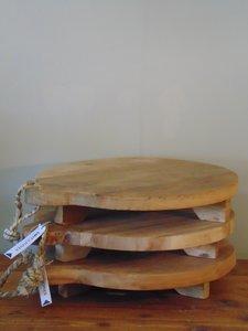 """Ronde Acacia houten snijplank """"D"""", 40cm"""
