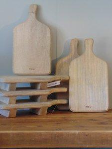 """Langwerpige Acacia houten snijplank """"M"""", 38cm"""