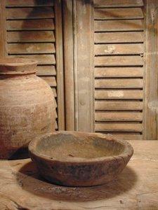 Nepalese houten schaal